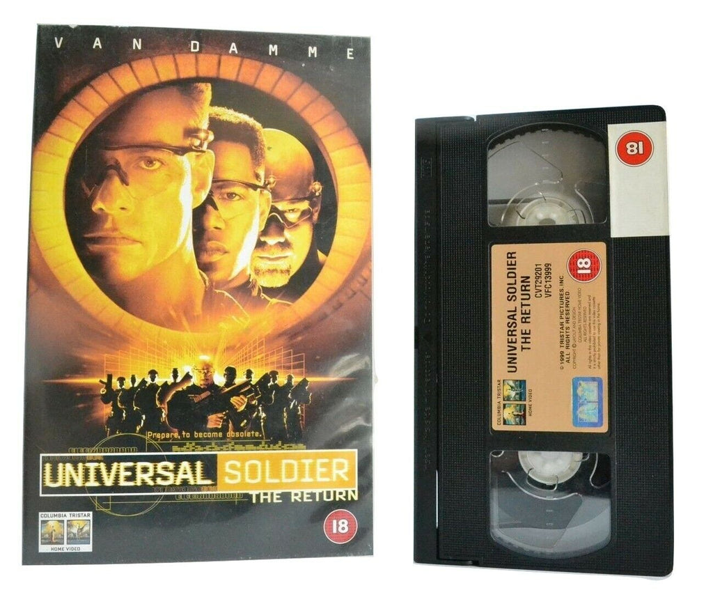 Universal Soldier: The Return (1999) - Sci-Fi/Action - J-C.Van Damme - Pal VHS