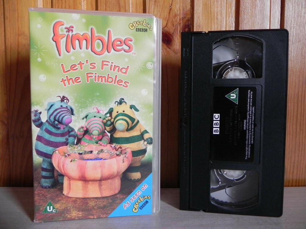 BBC: Let's Find The Fimbles - Education (Ragdoll) Children's Songs Action - VHS