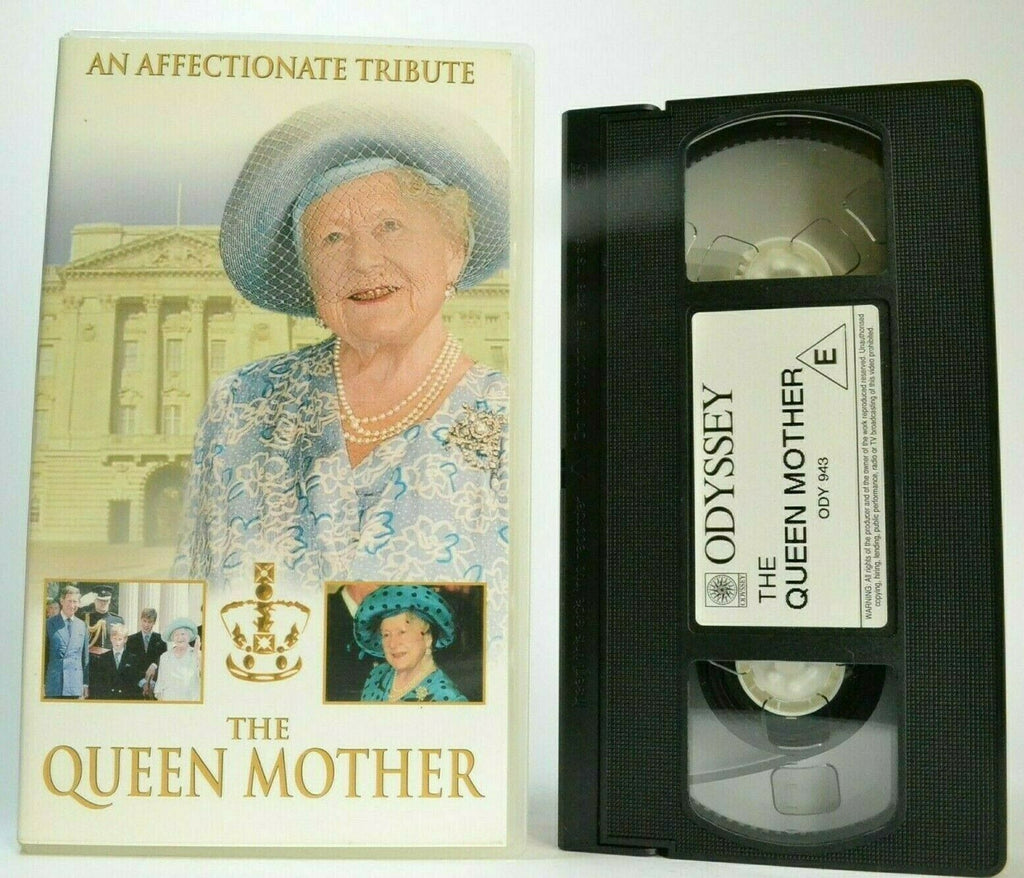 The Queen Mother [Affectionate Tribute] - Queen Elizabeth - Royal Family - VHS