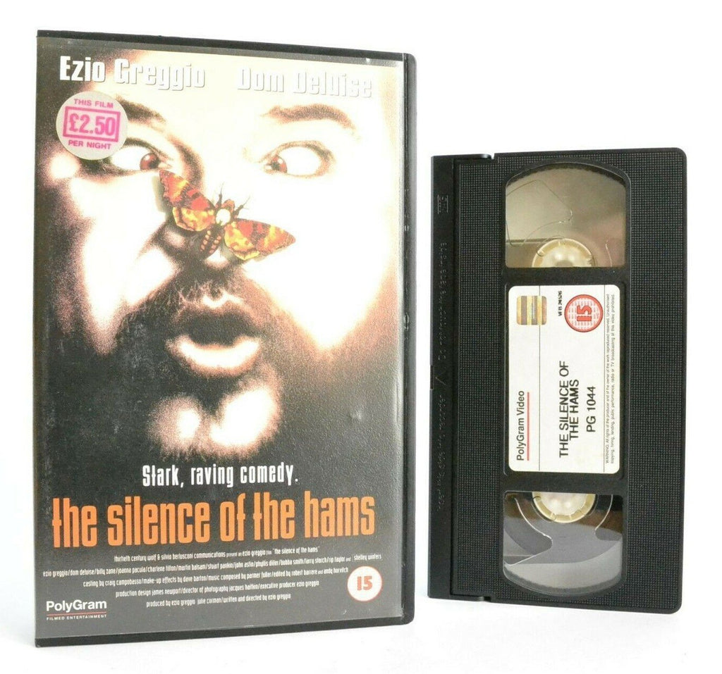 The Silence Of The Hams: A Movie Parody - Comedy - Large Box - Ex-Rental - OOP VHS