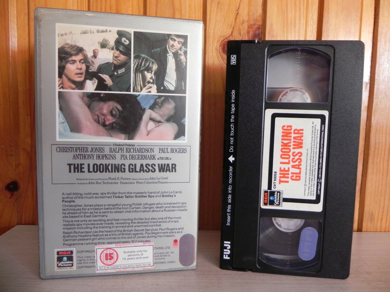 The Looking Glass War - Anthony Hopkins - RCA Silver Series - Pre Cert - Pal VHS
