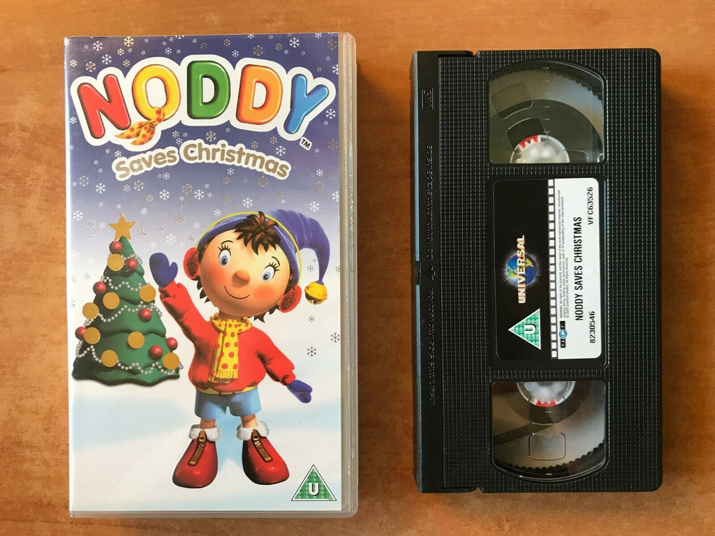 Noddy Saves Christmas - Holiday Special - Singalong Songs - Children's - Pal VHS
