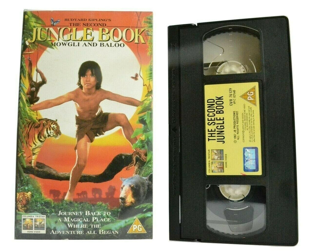 The Second Jungle Book: Mowgli And Baloo (1997): Adventure - Children's - VHS