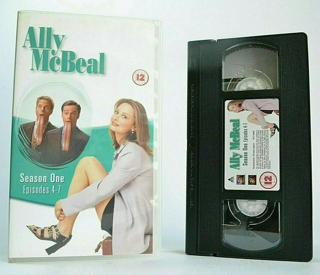 Ally McBeal: Series 1 -'The Promise'- Comedy Show - Calista Flockhart - Pal VHS