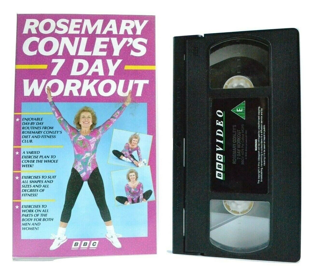 Body, By, Conley, Day, Exercise & Fitness, Exercises, No, Pal, Rosemary, Transformation, VHS