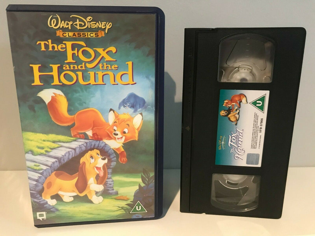 The Fox And The Hound [Walt Disney] Animated Adventures - Children's - Pal VHS