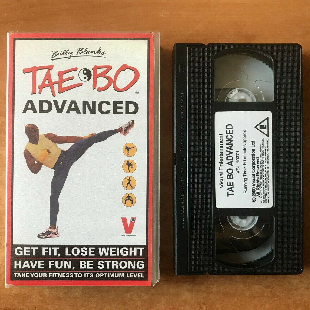 Tae Bo Advanced; [Billy Blanks] Self Defence - Dance - Boxing - Fitness - VHS