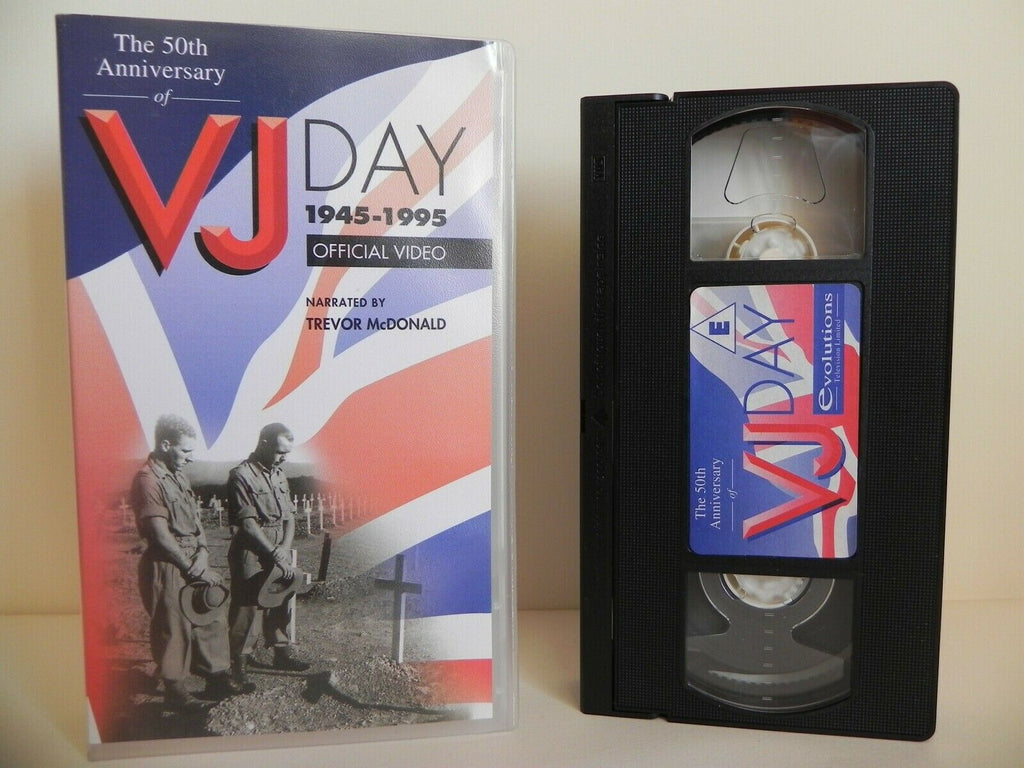 50th Anniversary Of VJ Day 1945-1995 - Official Video - Trevor McDonald - VHS