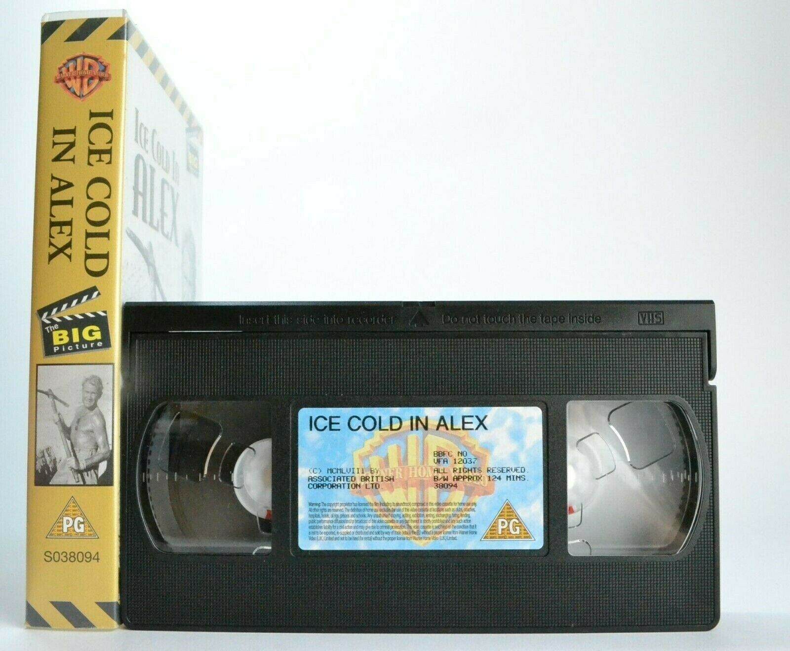 2000, Alex, Alexandria, British, Britney Spears, Cold, Drama, Ice, In, J. Lee Thompson, John, Lines, Mills, No, PAL, PG, Sylvia Syms, VHS, War