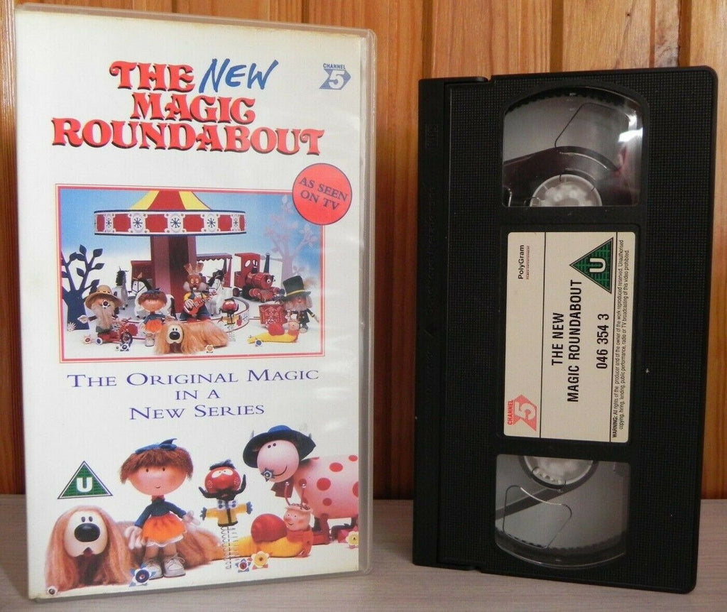The New Magic Roundabout - (1997) Original BBC Series - Kids - Pal VHS