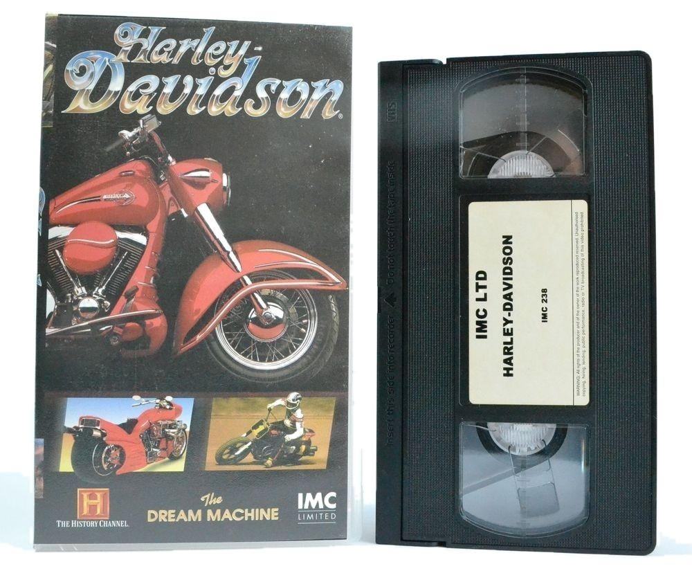 Harley Davidson: The Dream Machine - History Channel - Motorcycle Doc - VHS