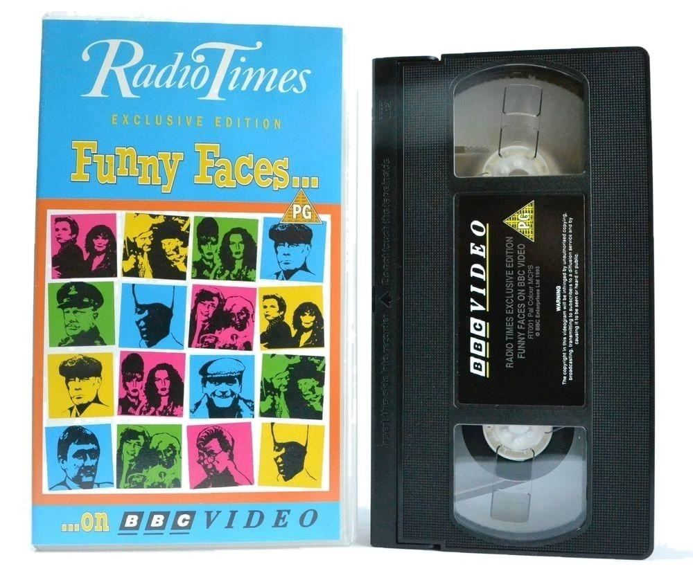 Radio Times [Exclusive Edition] Funny Faces... BBC (1993) Comedy Comp - VHS