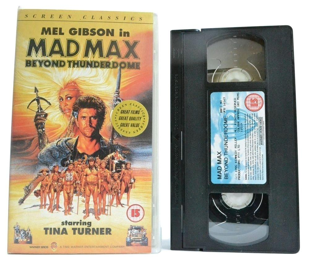 Mad Max: Beyond Thunderdome; Tina Turner [Apocalypse] - Gibson - VHS