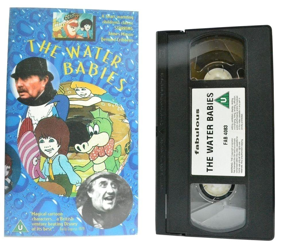 The Water Babies: Charles Kingsley - James Mason (1979) Children's Hit - VHS
