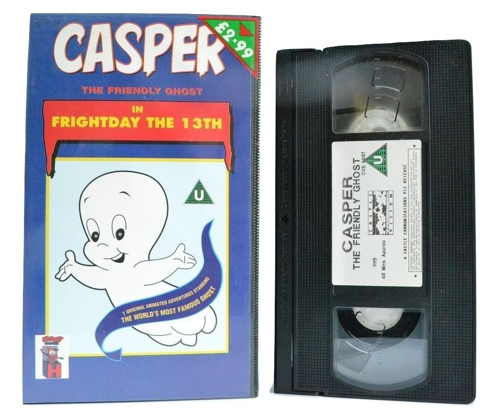 Casper The Friendly Ghost: Frightnight The 13th - Castle Vision Original - Kids VHS
