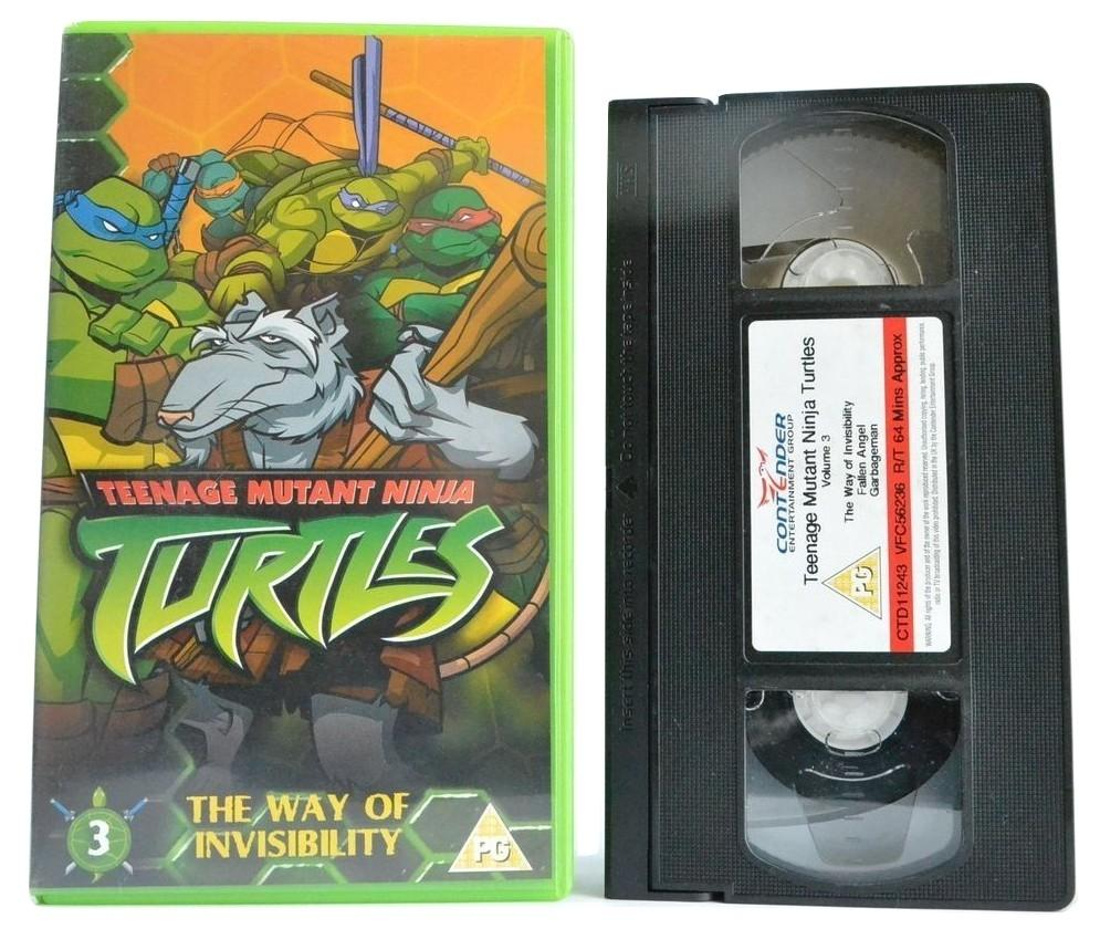 "Teenage Mutant ""Ninja"" Turtles [Animation] Way Of Invisibility - Kid's PG - VHS"