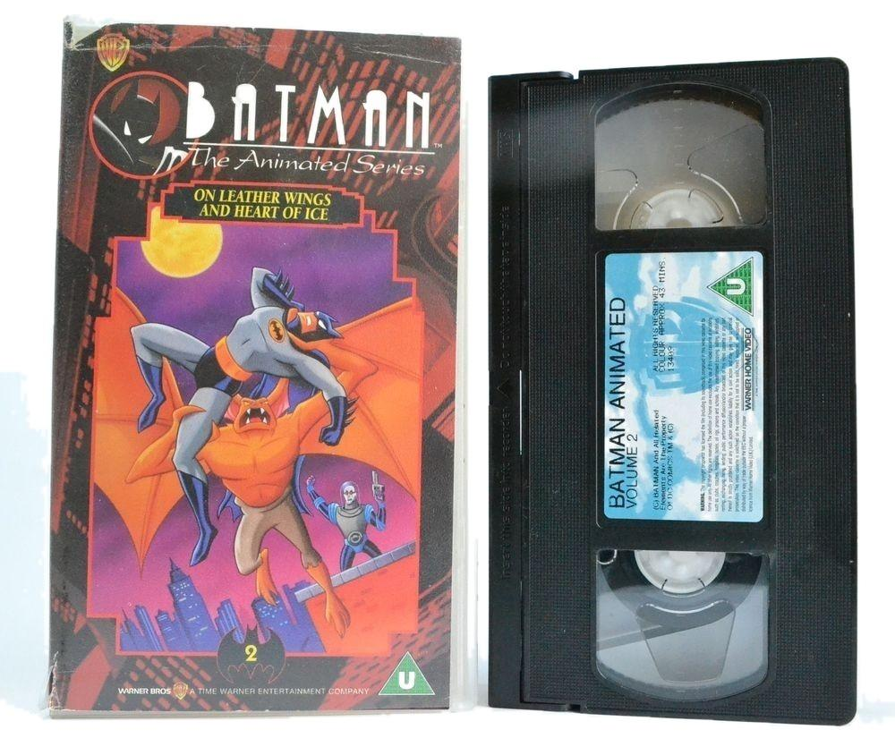 Batman: Animated Series Vol.2 - On Leather Wings - Heart Of Ice - Kids - VHS