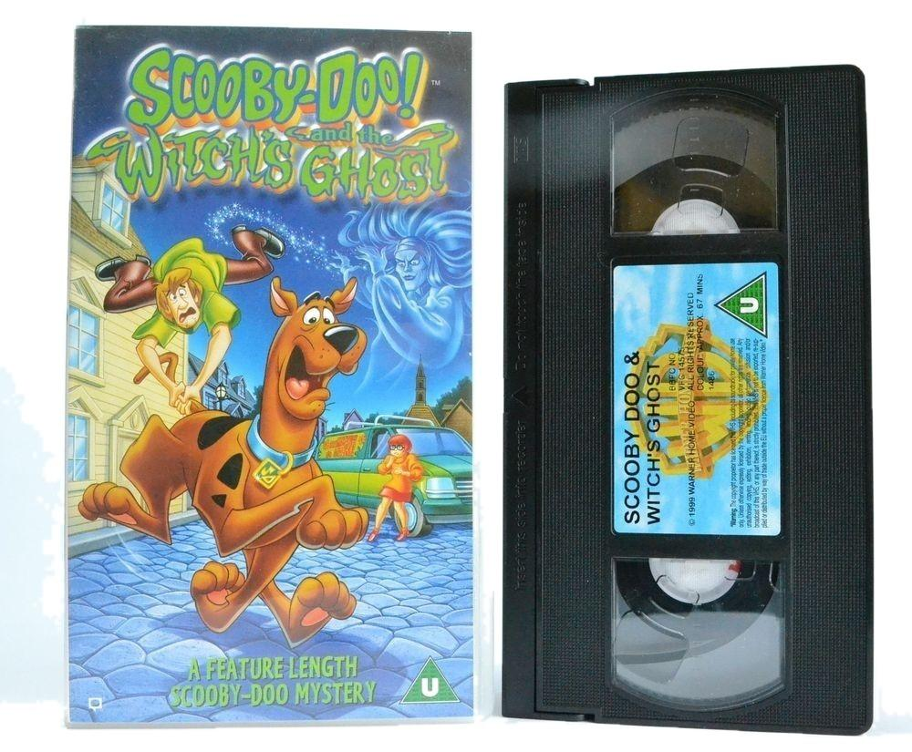 Scooby-Doo: And The Witches Ghost - (1999) Feature Length Kids Mystery - VHS
