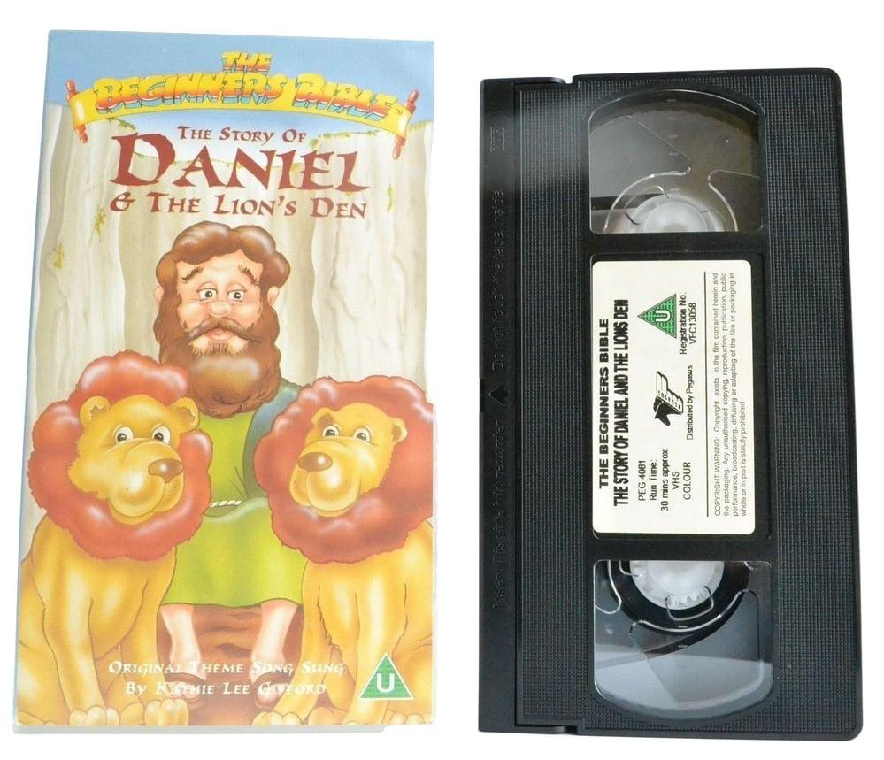 The Story Of Daniel & The Lion's Den: Kathie Lee Gifford - Bible - Kids - VHS