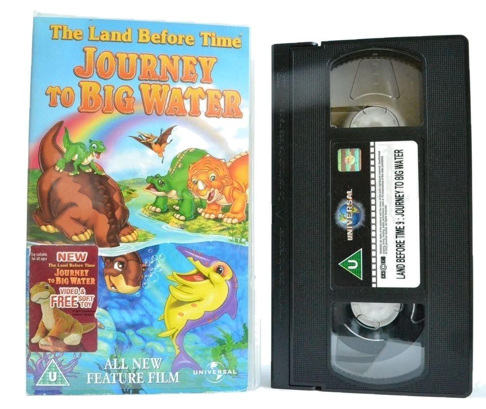 The Land Before Time: Journey To Big Water (2003) Contains Mild Peril - VHS