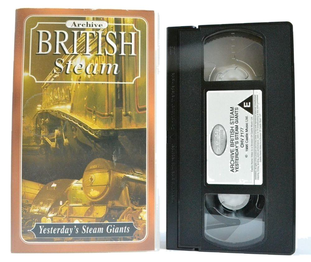 British Steam: Rare Cine Footage - From The 50's and 60's - Great Central - VHS