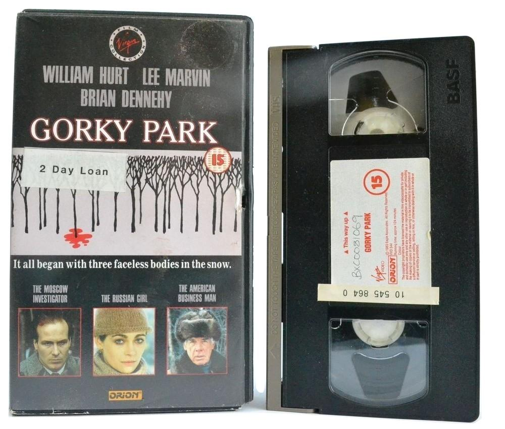 Gorky Park: W.Hurt - Lee Marvin (1983) Mystery Thriller - Faceless Bodies OOP VHS