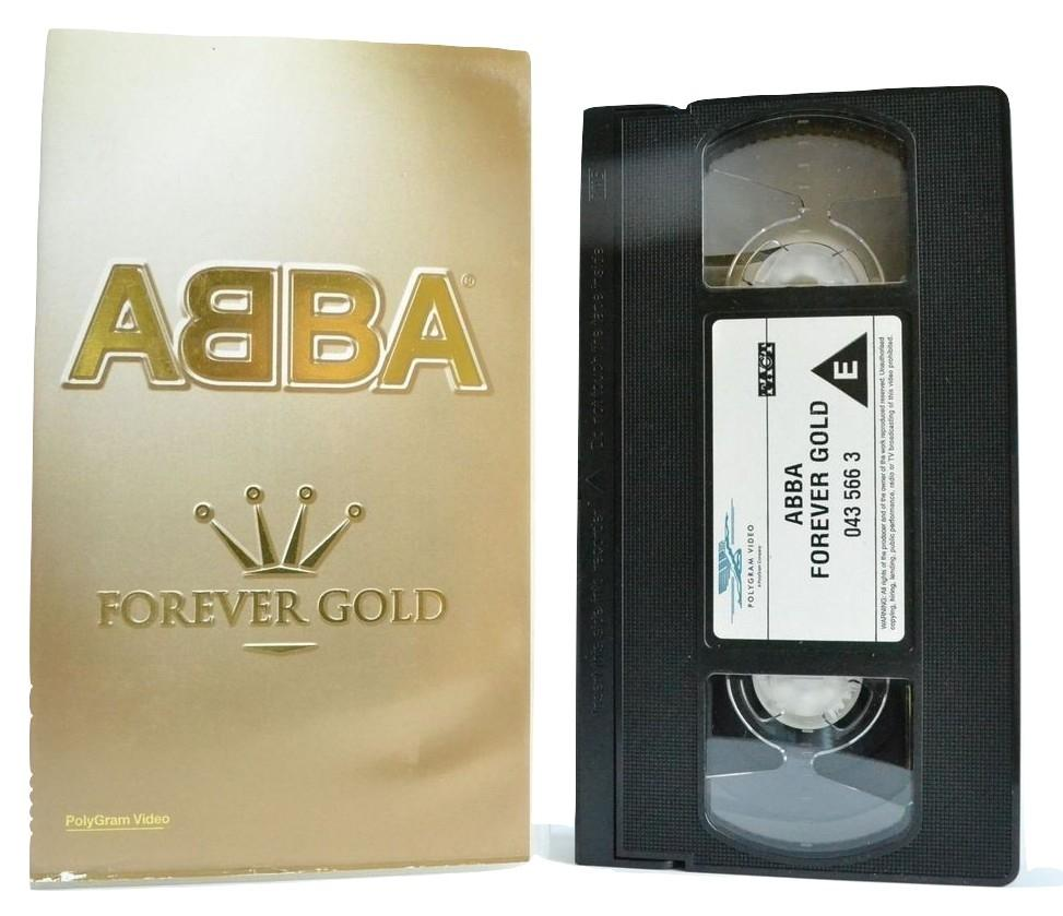 ABBA: Forever Gold (90 Minutes) 32 Tracks - Dancing Queen, That's Me - VHS