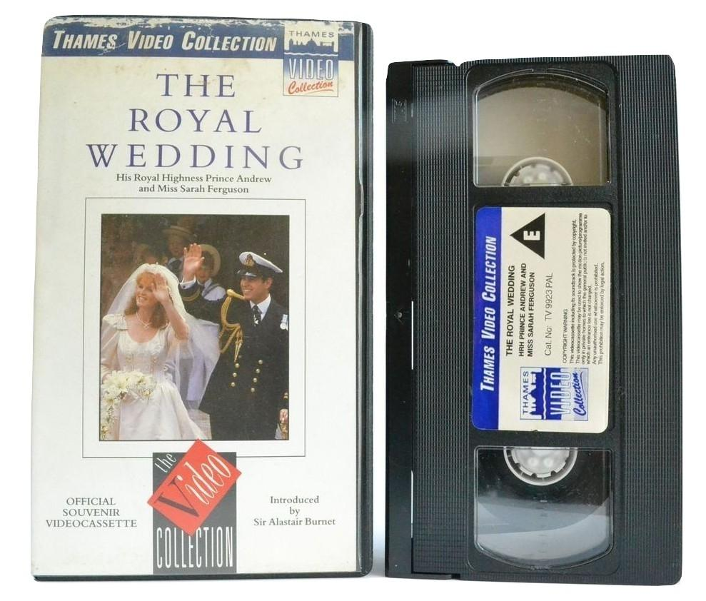 The Royal Wedding: Official Souvenir - Prince Andrew and Sarah Ferguson - VHS
