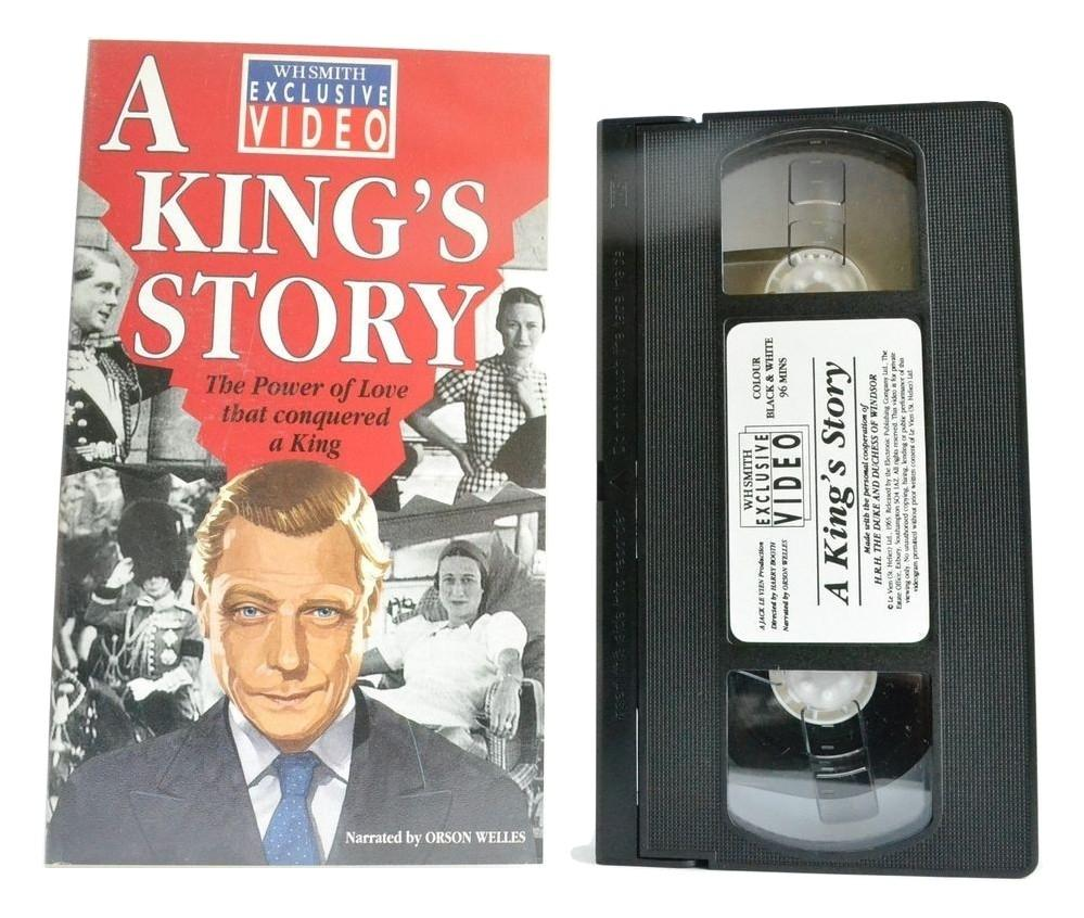 A King's Story: [Orson Welles] King Edward 8 - Le Vien (1965) - B&W Film - VHS