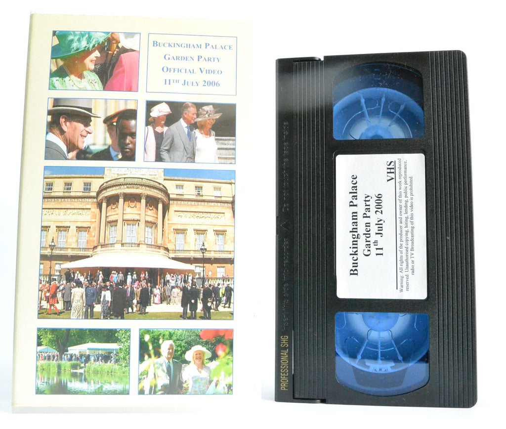 Buckingham Palace: Garden Party (11 July 2006) - BCA Film - Royal Monarchy - VHS