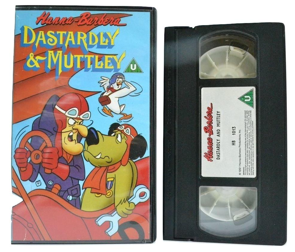Dastardly & Muttley: 8 Of The Best - Barn Stormers [Children's Race Animation] VHS