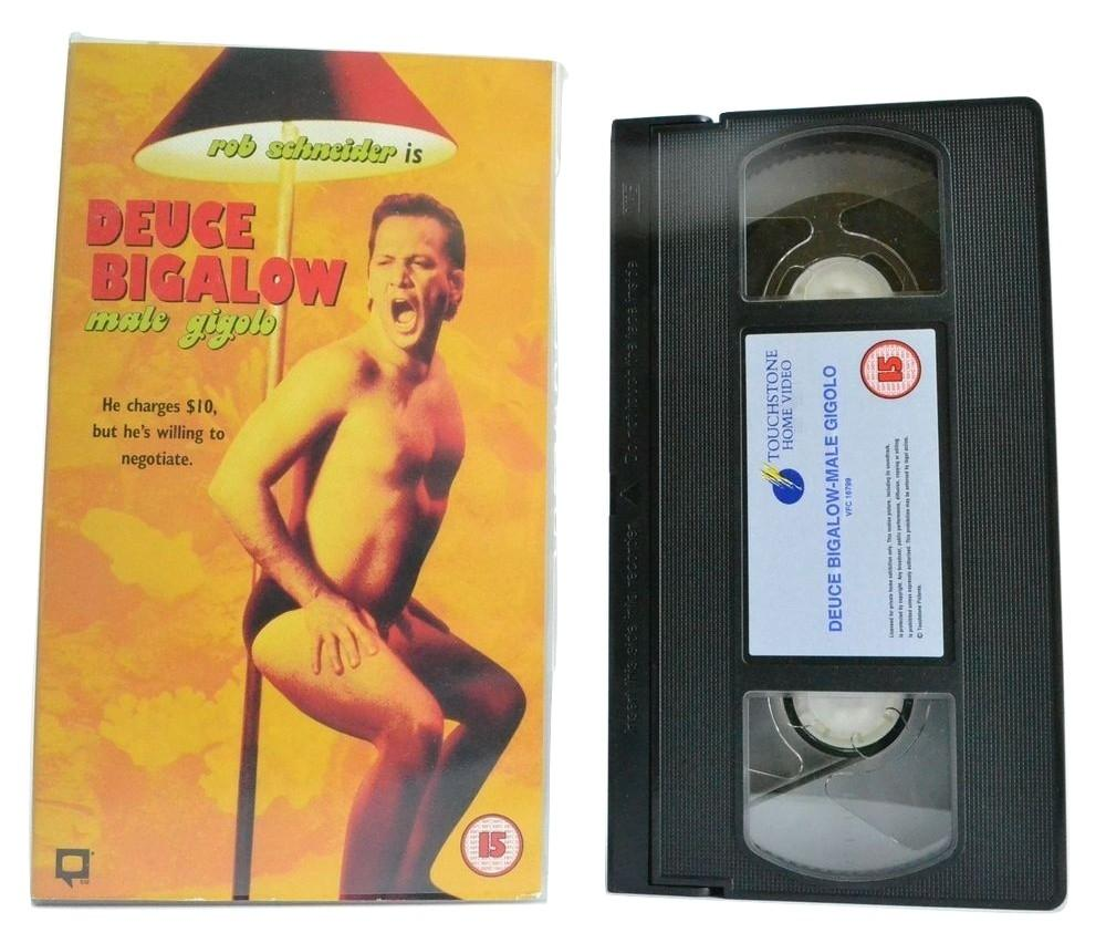 Deuce Bigalow: Male Gigolo; Must-See Comedy Drama - Rob Schneider - VHS