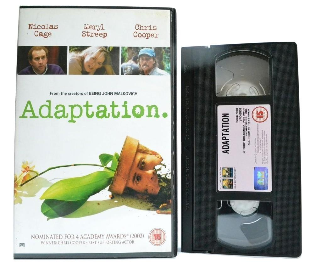 Adaptation: Nicolas Cage - Spike Jonze (2003) Surreal Original Comedy - VHS
