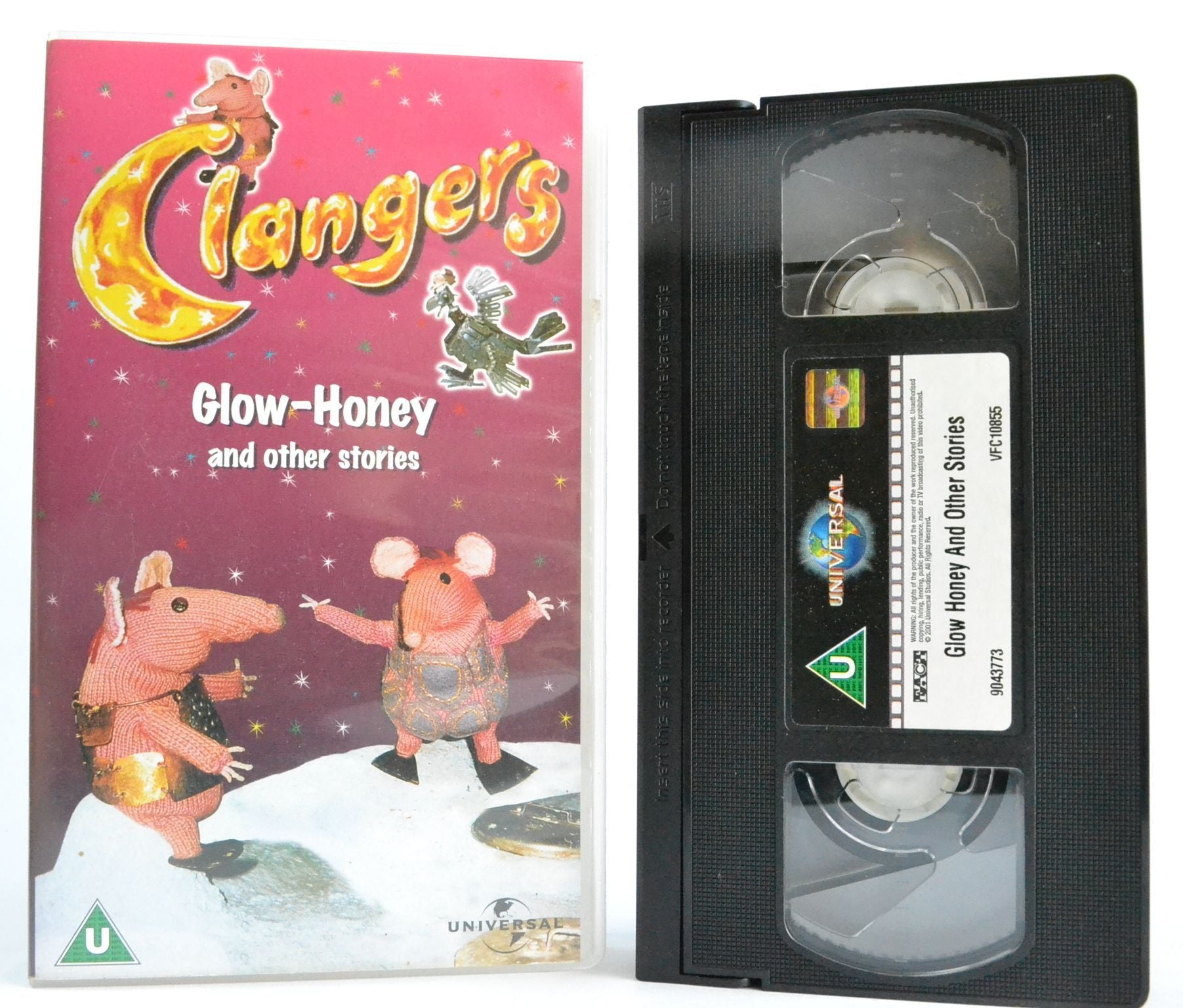 Clangers: Glow-Honey - The Seed - The Music Of The Spheres (1970) Kids - VHS