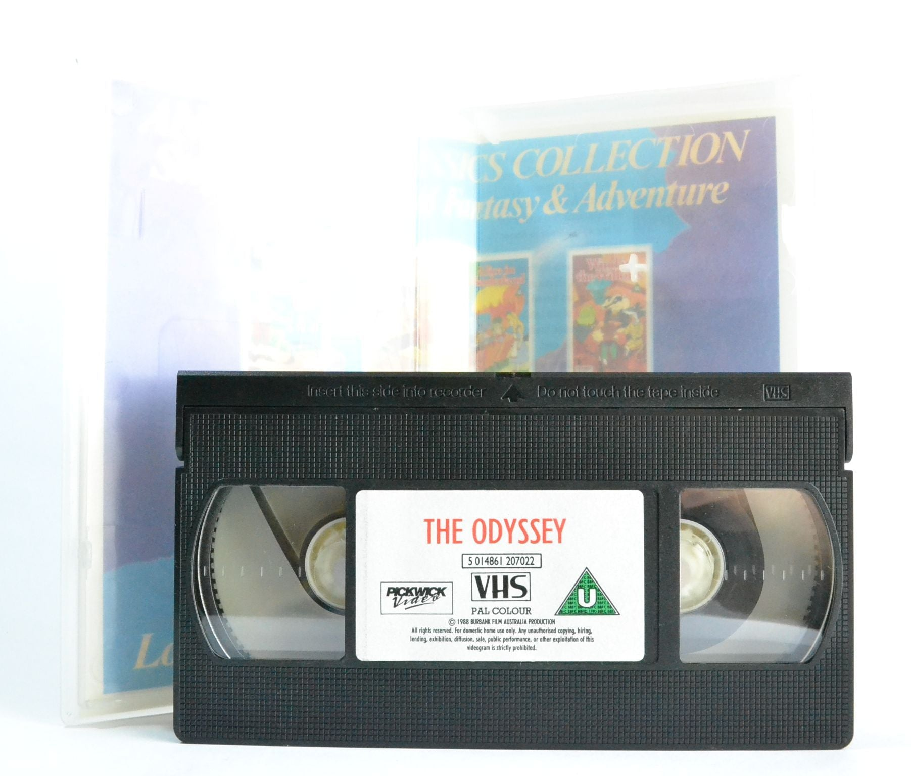 The Odyssey: Greek Legend Odysseus; Homer's Fable Animation - Pickwick - VHS