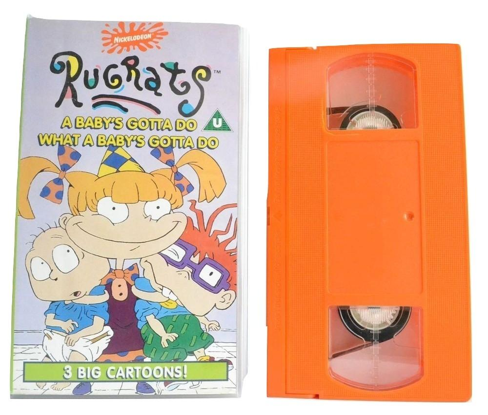 Rugrats: A Baby's Gotta Do What A Baby's Gotta Do - 4 Children' Animations - VHS