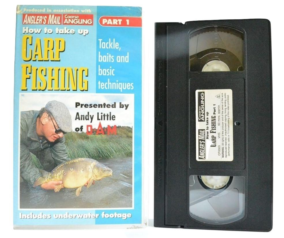 How To Take Up Carp Fishing: Tackle Baits & Basic Techniques - Andy Little VHS