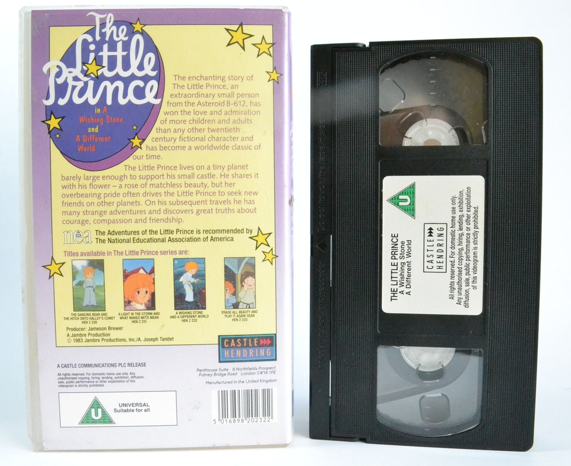 The Little Prince: A Wishing Stone - A Different World - Charming Children - VHS