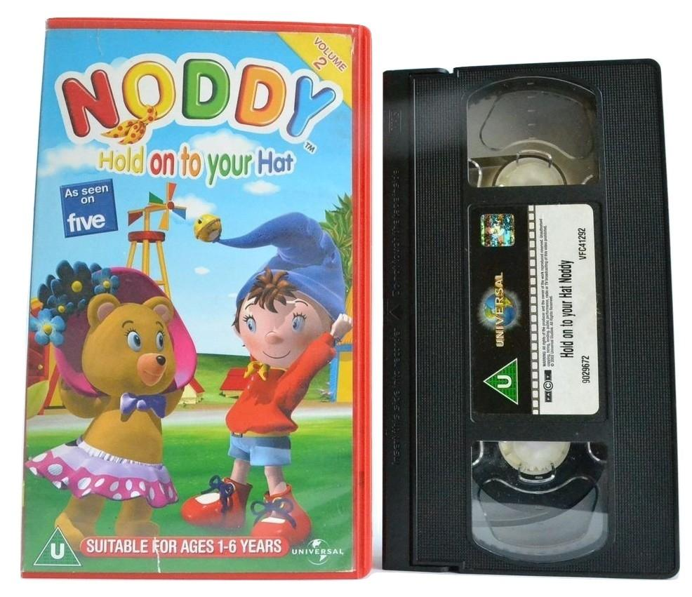 Noddy (Vol. 2): Hold On To Your Hat (2003) Ages 1-6 - Children's Favourite - VHS