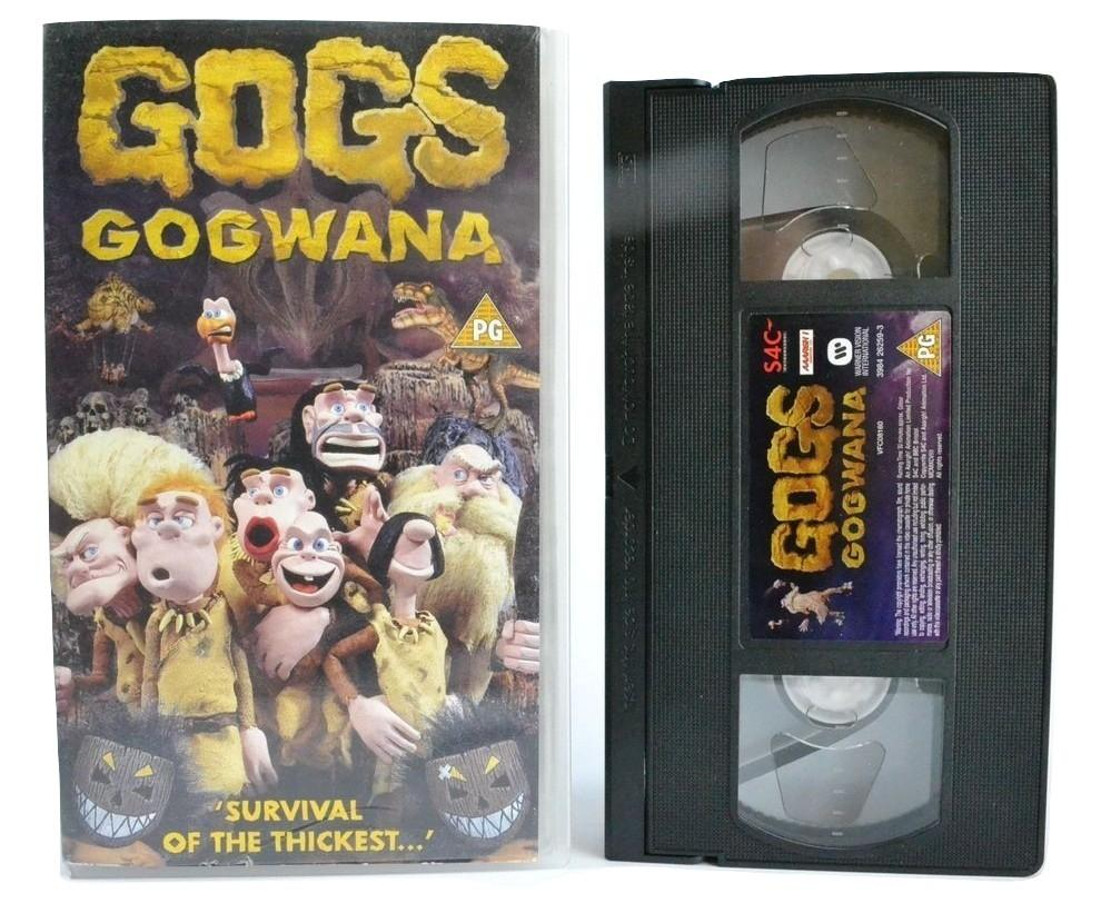 Gogs: Gogwana [Shocking Claymation] Cannibal Pygmies /PG\ Children - VHS