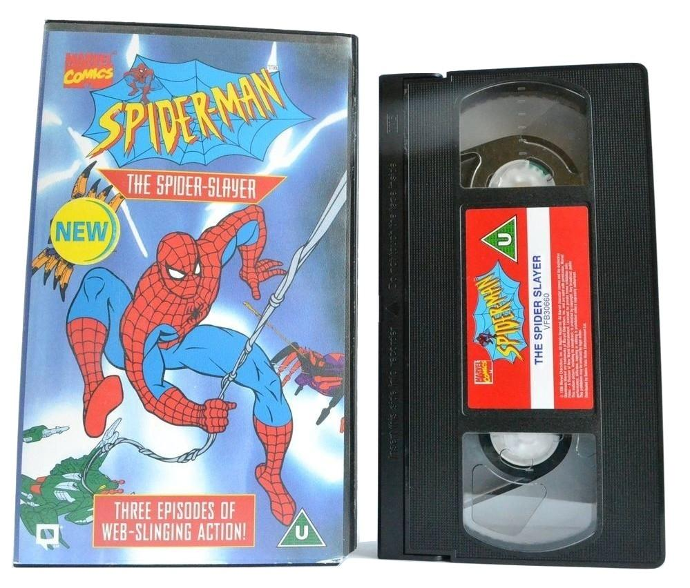 Spider-Man: The Spider-Slayer - Dr. Octopus [Marvel Comics] 1997 - Pal - VHS