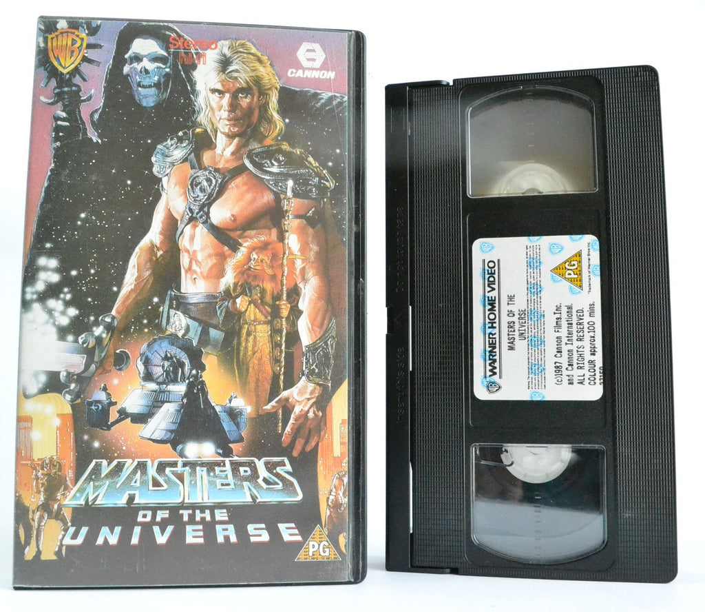 Masters Of The Universe: Dolph Lundgren Is He-Man (1987) Action Sci-Fi - Pal - VHS