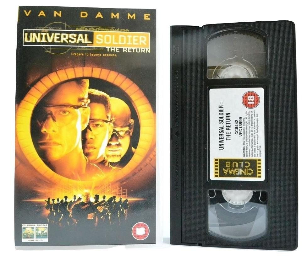 Universal Soldier: The Return - Action - Van Damme - Michael Jai White - VHS