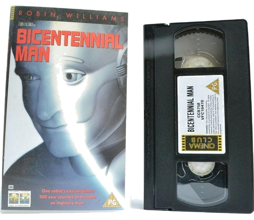 Bicentennial Man (1999): Human Sci-Fi Comedy-Drama - Robin Williams - VHS