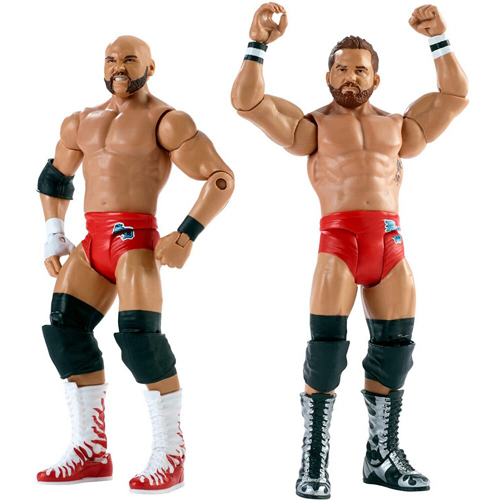Mattel WWE Super mobile Series The Revival Wrestlers Doll 6 Inch Action Figure Model Kids Toys Birthday Gift