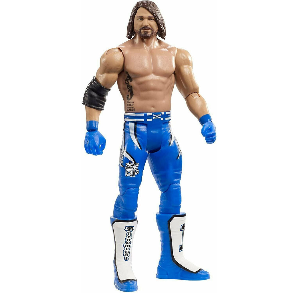 Mattel WWE Super mobile Series AJ Styles Wrestlers Doll 6 Inch Action Figure Model Kids Toys Birthday Gift