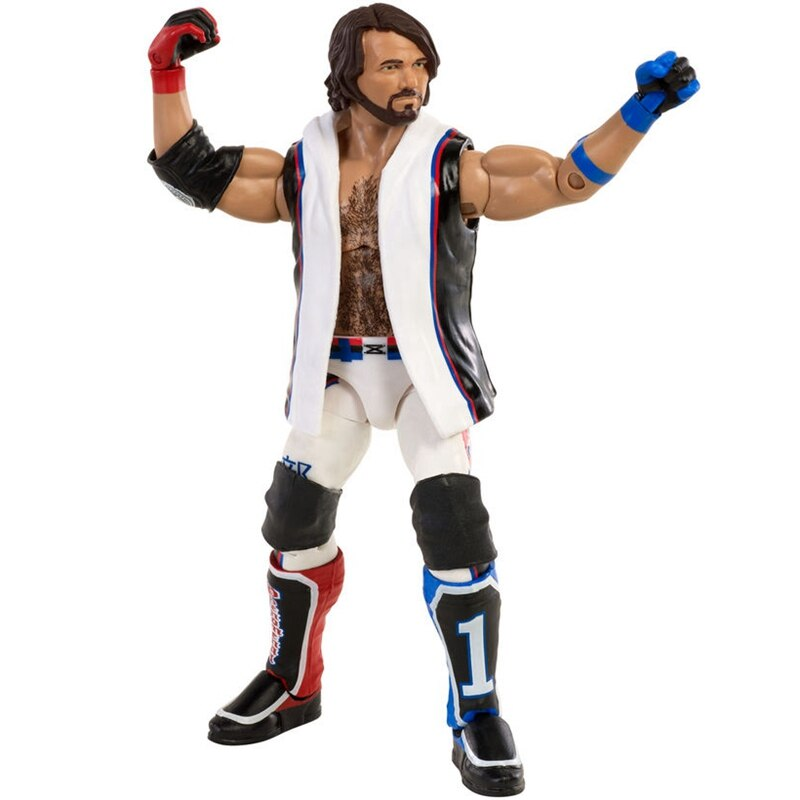 Mattel WWE Super mobile Series AJ Style Wrestlers Doll 6 Inch Action Figure Model Kids Toys Birthday Gift