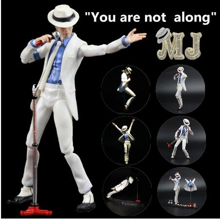 Figuarts King of MJ Michael Jackson MV Moonwalk Thriller PVC Action Figure Collectible Model Toy