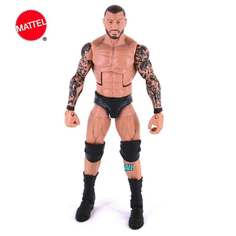 Mattel WWE Super mobile Series Randy Orton Wrestlers Doll 6 Inch Action Figure Model Kids Toys Birthday Gift