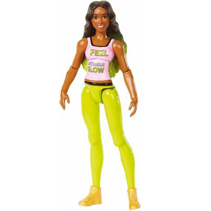 Mattel WWE Super mobile Series Naomi Wrestlers Doll 6 Inch Action Figure Model Kids Toys Birthday Gift